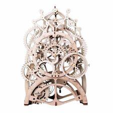 Vintage Home Decor DIY Crafts Wooden Pendulum Clock Gear Drive by Clockwork