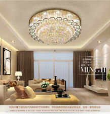 Modern LED K9 Crystal Ceiling Light Pendant Lamp Chandelier with Remote Control