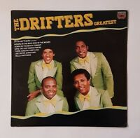 The Drifters - Greatest Hits - 1991 - MFP4157341 - UK Pressing - Vinyl LP