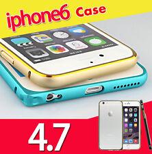 "Luxury Aluminum Alloy Bumper Hard Frame Shell Case Cover for 4.7"" iPhone 6 UK"