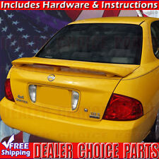 For 2000 01 02 03 04 05 2006 SENTRA Factory Style Spoiler Rear Wing WL UNPAINTED