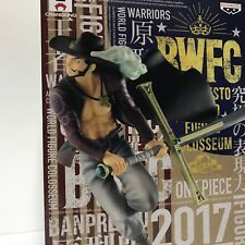 One Piece Dracule Mihawk Figure Banpresto World Figure Colosseum Japan Authentic