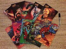 Rare 1995 Fleer Ultra Spider-Man Ultra Prints, full set of 10
