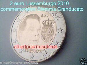 2 euro 2010 fdcUNC Luxembourg Luxemburg Lussemburgo Stemma Luxemburgo Люксембург