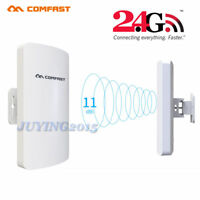 COMFAST Outdoor CPE 2.4GHz 300Mbps Wireless Access Point WiFi Repeater AP POE JY