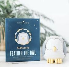 New Unopened Young Living Essential Oils Feather The Owl Diffuser