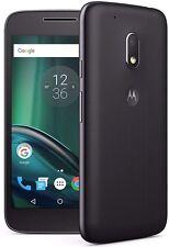 Motorola Moto G4 PLAY XT1604 -16GB 4G **UNLOCKED~** BLACK Smartphone *~GRADE-B~*