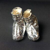 Action Man 1965 Astronaut silver leatherette boots space kit shoes  34701 1:6