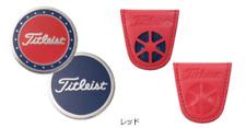 Titleist Japan Golf Pocket Clip Ball Marker AJBM91 2019 Red