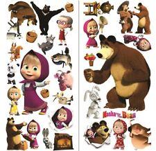 Mascha und der bär wandtattoo 3D masha and the bear Wandaufkleber tattoo 75x35x2