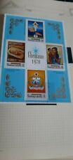 1970  Samoa  I Sisifo Christmas Stamps Miniature Sheet and single Stamps