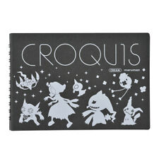 Pokemon Center Original Mysterious Encounters small CROQUIS book Sketch Acerola