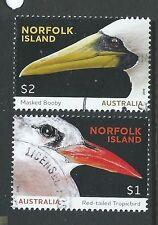 NORFOLK ISLAND 2016 SEABIRDS FINE USED