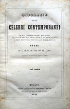 1844 – BIOGRAFIE DE' PIÙ CELEBRI CONTEMPORANEI – STORIA WASHINGTON FRANKLIN