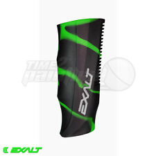 Exalt Paintball Luxe Regulator Grip Cover - Black / Lime Swirl *Free Shipping*