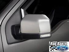 15 - 17 F-150 OEM Ford Chrome Standard Mirror Skull Caps Covers NEW Non-Trailer