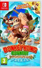 Donkey Kong Country: tropical Freeze-Nintendo Switch-Totalmente Nuevo-región libre
