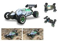 RC Buggy Blade PRO 4WD 70km/h Brushless M 1:10 RTR 2,4 GHz Aluplatte Komplettset