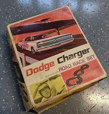 1967 ELDON DODGE CHARGER 1/32nd Scale SLOT CAR RACE SET - Original