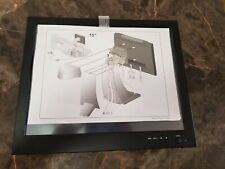 Monitor touchscreen LCD 15 inch PITNEY BOWES Model MSD2