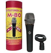 Telefunken M80 Dynamic Vocal & Instrument Microphone