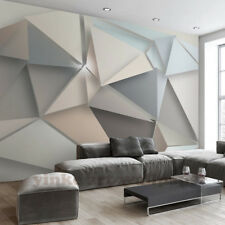 New 3D Wallpaper Mural Photo Modern Stereoscopic Triangle Wall Home Decoration