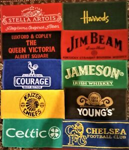 10 Different Beer - Bar Towels -  New Lot 4
