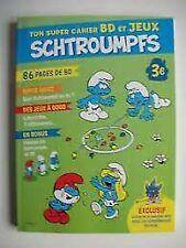 Ton super cahier BD et Jeux Schtroumpfs : 86 pages de BD... | Buch | Zustand gut