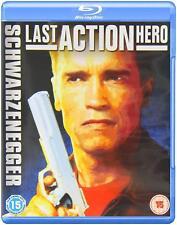 LAST ACTION HERO (1993) BLU RAY ARNOLD SCHWARZENEGGER  REGION FREE