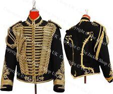 Hussars Jacket - Gilt Braid Dolman Shoulder Boards Aiguillette