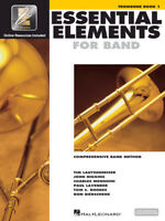 Essential Elements for Band: Trombone Book 1 with EEi and Online Media 862577