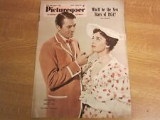 January 1954, PICTUREGOER, Jane Griffiths, Ida Lupino, Donald O'Connor.