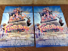 2 1994 The Flintstones Original Movie House Full Sheet Posters