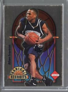1996 Collector's Edge Gold Radical Recruits Allen Iverson Rc (0262/1000)