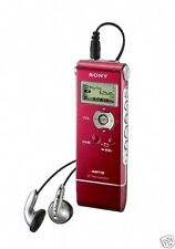 SONY ICDUX71 REFURBISHED 1GB Digital Voice Recorder: ICD-UX71 RED