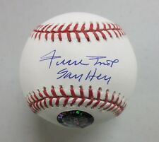 Willie Mays Autographed Official MLB Baseball (Say Hey) - Say Hey Hologram