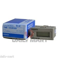 OMRON H7EC-BLM H7ECBLM Time Counter New in Box Free Ship
