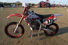 2004-2009 HONDA CRF 250 Argyle Motocross Graphics Dirt Bike Graphics Decal Deco