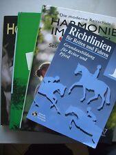 4 Bücher Richtlinien Reiten Fahren Harmonie im Sattel Horsewatching Natürliches