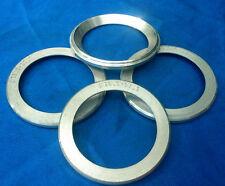4 x Zentrierringe 76,5 / 57,1 mm aus Aluminium