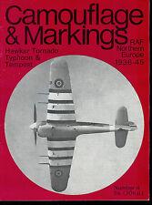 Rare Aircraft Magazine Camouflage & Markings #4 Hawker Tornado Typhoon & Tempest