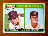 1965 Topps Rookie Stars #74 Rico Petrocelli Boston Red Sox