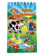 Bulk Wholesale Job Lot 240 Farm Notebooks Toys