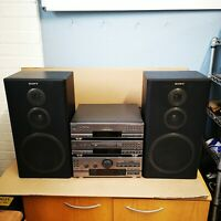 sony LBT-D507 stack. Amp cd tuner. fully working With speakers