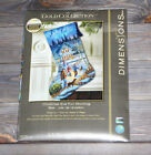 Dimensions Counted Cross Stich Gold Collection Christmas Eve Fun Stocking 8805