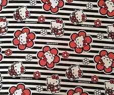Brand New Hello Kitty Print Fabric