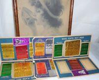 Vintage Needle Books Pincushion Lot Granny's Sewing Legacy