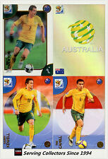 2010 Panini South Africa World Cup Soccer Cards Team Set Australia (4)