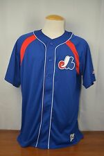 Brand New Majestic MLB Vladimir Guerrero Montreal Expos #27 COOL BASE Jersey
