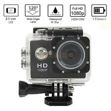 "HD 1080P 2.0"" LCD Cam Sports DV Waterproof Camera Camcorder for SJ4000 Black"